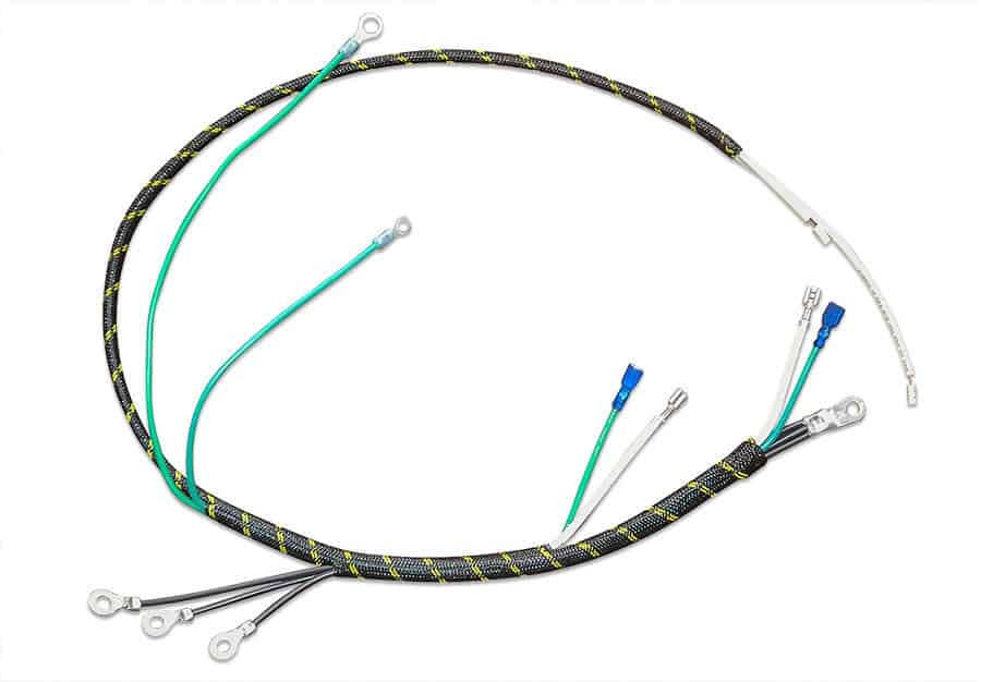 custom wiring harness manufacturing services la crosse wi wire harness braiding